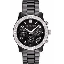 Relógio Michael Kors Mk5190 Ceramica Preto Lindo Fretegrátis