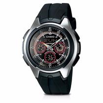 Relógio Masculino Casio Aq-163w-1b2vdf Anadi Prova D