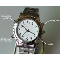 Relógio Para Deficiente Visual. Idioma Português