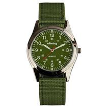 Relógio Infantry Quartz Lume Mão 12-24hrs Analógico Na Caixa