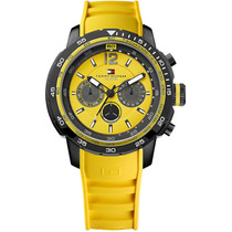 Relógio Tommy Hilfiger Th1790901 Orig Chron Anal Yellow!!!
