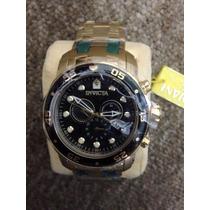 Relógio Invicta Pro Driver 0073 Plaque Ouro 18kt