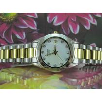 Relógio Citizen Eu2664-59d Luxo Dourado - Dia Dos Namorado