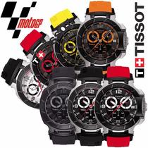 Pulseira Borracha P/ Relógio Tissot T-race Moto Gp - Preta