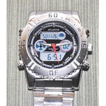 Relógio Barato Original Atlântis Masculino G3211
