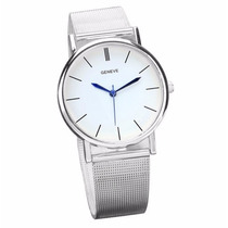 Relogio Quartz Watch Geneve Feminino
