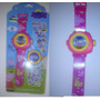 Peppa Pig - Relógio Projetor De Luz Com 10 Desenhos