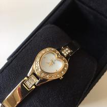 Relógio Relic Feminino Com Brilhantes - Excelente Presente