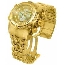 Relógio Invicta Bolt Zeus 12738 Gold Swiss Original + Maleta