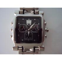 Relógio Oakl. Masculino Tank Minute Machine + Frete + Brinde
