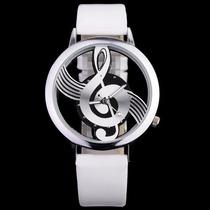 Relógio Musical Note Dial Quartz