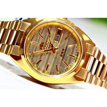 Relógio Orient Automático Dourado 21 Jewels Wr 469wc2 C1kx