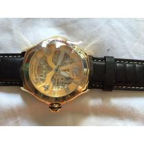 Relógio Stuhrling- Pulseira Couro- Original- Novo- Importado