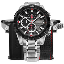 Relógio Technos Ts Carbon Multifunção Os1aan/1p