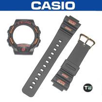 Kit Capa Pulseira G-shock Dw-6100 Thermometer