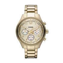 Relógio Feminino Dourado - Fch2791/z Fossil
