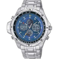 Relógio Citizen Js1040 Promaster Js1040-51l Combo Temp Azul
