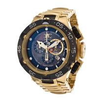 Relógio Invicta Subaqua Noma 5 V 15921 Ouro 18k Grande! 50mm