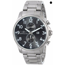 Relógio Invicta Men 17073- Display Swiss- Quartz Prata