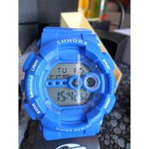 Relógio Shhors Shock Digital Led