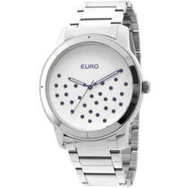 Relógio Euro Feminino Glam Eu2036lyl/3k-prata
