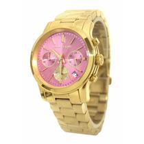 Relógio Michael Kors Mk6161 Dourado Rose Lindo Frete Grátis.