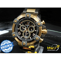 Invicta Arsenal Original 13016 Gigante 56 Mm Banh Ouro 18k