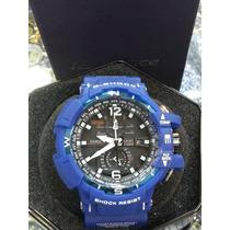 Relogio Casio G-shock Resist Azul Sedex Gratis Garantia