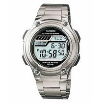 Relogio Casio W-212 Hd Aço 5 Alar Timer Crono W212 W96