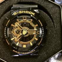 Relógio Masculino   Casio G-shock Edição Gold