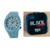 Relógio Unissex Everlast Esportivo E369 E Perfume Masc 25 Ml