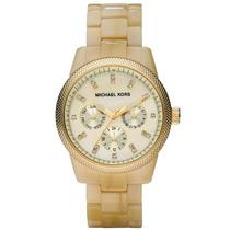 Relógio Luxo Michael Kors Mk5039 Orig Chron Anal Madre!!!