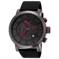 Relógio Masculino Puma - Pulseira De Silicone - 96222gppmpu4