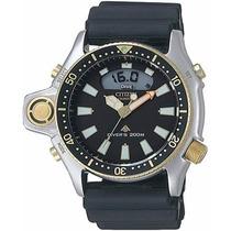 Relogio Citizen Aqualand Jp2004-07e Garantia 02 Anos