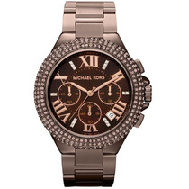 Relógio Luxo Michael Kors Mk5665 Orig Chron Anal Swarovski!!