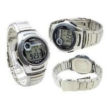 Relogio Casio W-213 D Aço 5 Alar Timer Crono W212 W213