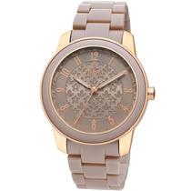 Relógio Feminino Bege - Al2035hh/2t Allora