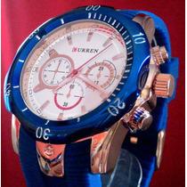 Relógio Com Design Invicta Reserve Curren + Frete Gratis