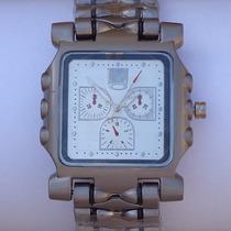 Relógio Quadrado Masculino Esporte Luxo Tank Minute Machine