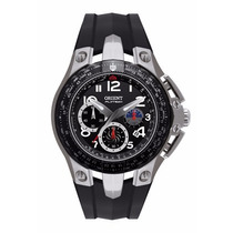 Relógio Masculino Orient Flytech Titanium Mbtpc002 Novo + Nf