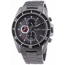 Relógio De Luxo Michael Kors Mk8340 Completo Com Garantia