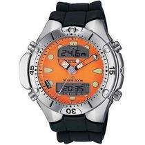 Relógio Citizen Aqualand Jp-1060 Eco Drive - Envio Em 48hrs