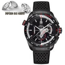 Relógio Tag Hauer Calibre 36 Preto Automatico Gran Carrera