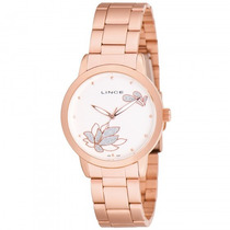 Relógio Lince Lrr4151l S1rx Feminino Dourado Rosê - Refinado