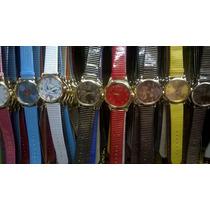 Kit 10 Relógio Feminino Varias Cores Atacado Ótimo/revender