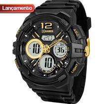 Relógio X Games Xmppa126 - 50mm - Garantia 1 Ano