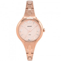 Relógio Orient Frss0005 R2rx Feminino Rosê - Refinado