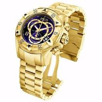 Relógio Invicta Excursion Série Gold (réplica).