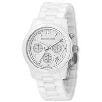 Relógio Michael Kors Mk5161 Cerâmica Branco Frete Grátis