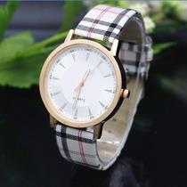 Relógio Feminino Quartz Xadrez. Promoção!!!